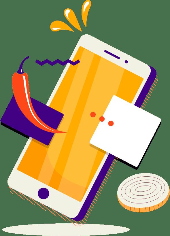 Web apps et apps mobiles réalisées avec passion